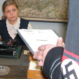 Dreh Gestapo Hauptquartier Trier