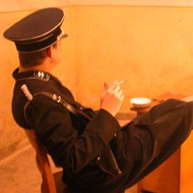 Dreh Gestapo Hauptquartier